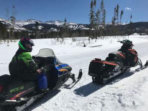 Fraser snowmobiling