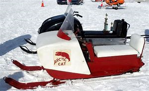 vintage arctic cat sled